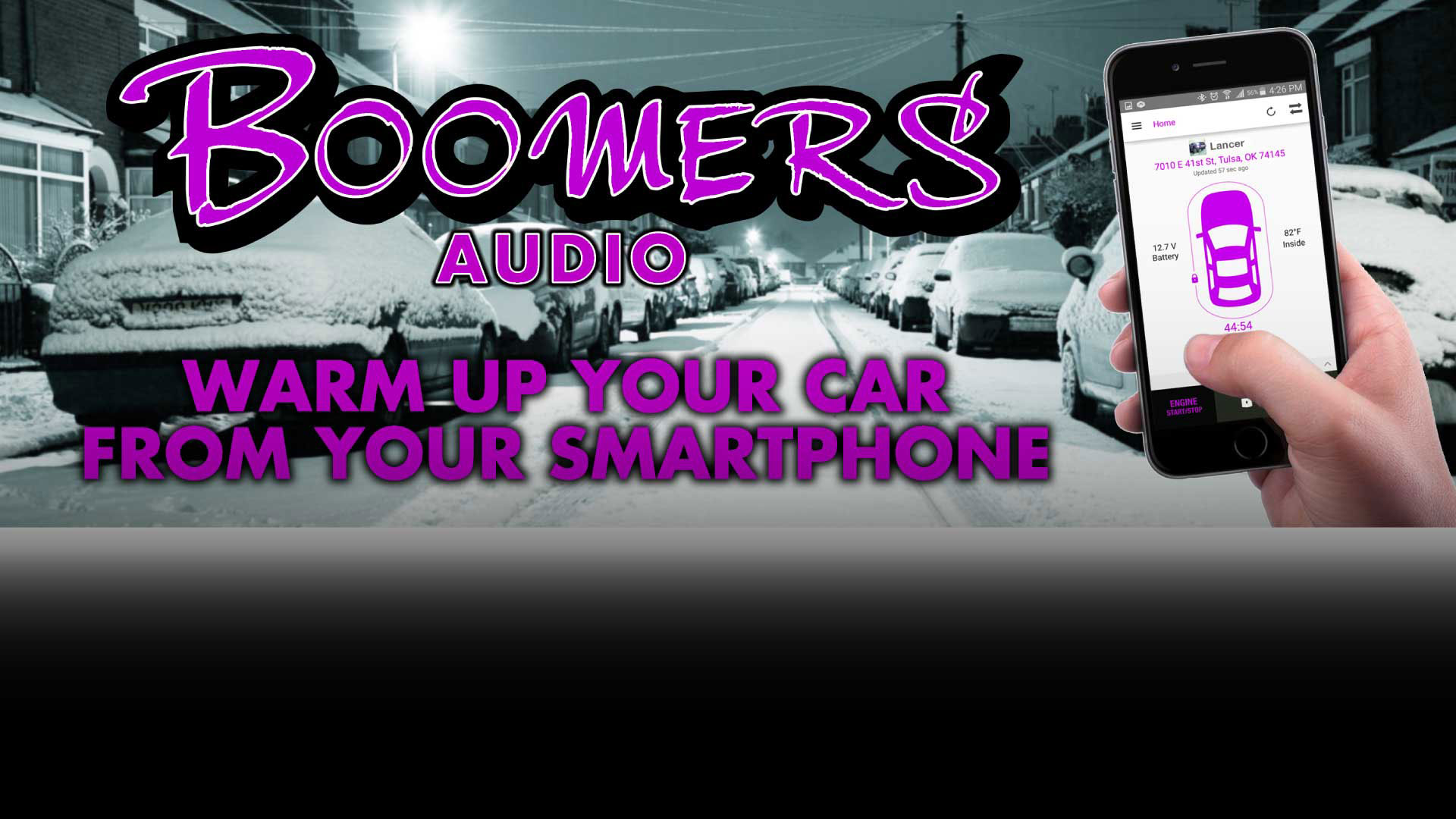 Warm Up Your Car With Your Smart Phone