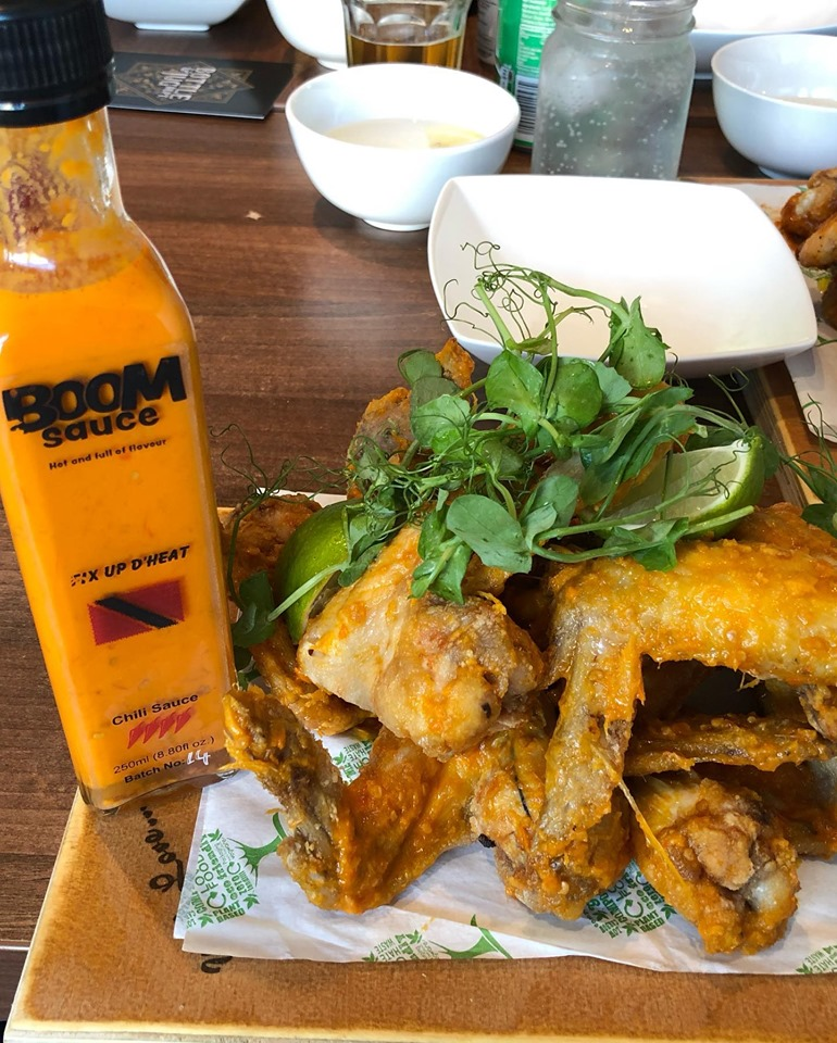 Boom Sauce Chicken Wings