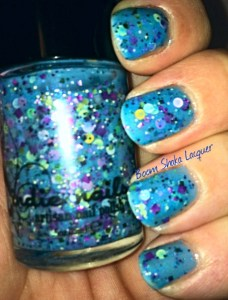 Jindie Nails - Anniversary Seaquins (original swatch)