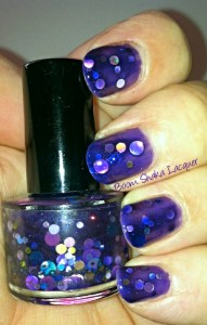 Jindie Nails - Purple Universary (Original Swatch)