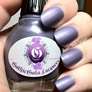 Gothic Gala Lacquers - Lilac Dreams (No Topcoat)