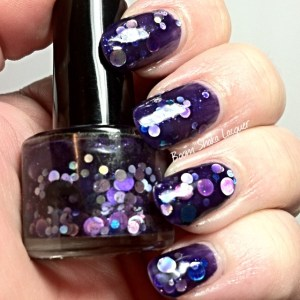 Jindie Nails - Purple Universary (Updated Swatch)