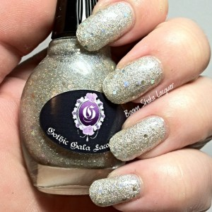 Gothic Gala Lacquers - 24kt Bling (With GGL Smooth Me Over and Topcoat)