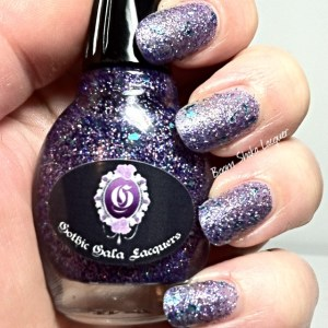 Gothic Gala Lacquers - Sapphire Sizzle (No Topcoat)