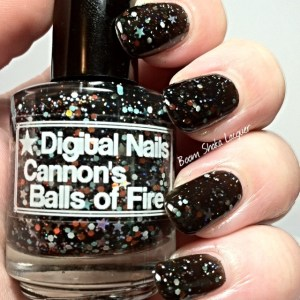 Digital Nails - Cannon's Balls of Fire