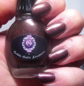 Gothic Gala Lacquers - Fifth of November