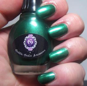 Gothic Gala Lacquers - Holiday Leaves