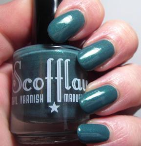 Scofflaw Nail Varnish - Love Letter to Bob Ross