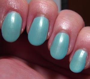 Blue Eyed Girl Lacquer - Monster's Tea at Tiffany's