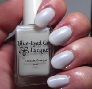 Blue Eyed Girl Lacquer - Untrodden Snow