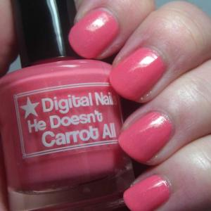 Digital Nails - He Doesn't Carrot All