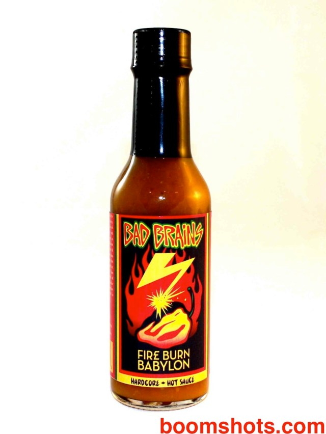 Bad Brains Fire Burn Babylon Hardcore Hot Sauce