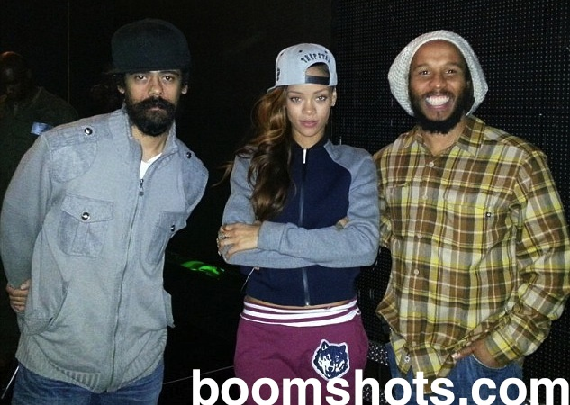 Watch this rihanna bruno mars and sting join ziggy damian marley watch this rihanna bruno mars and sting join ziggy damian marley to big up bob at the grammys boomshots thecheapjerseys Gallery