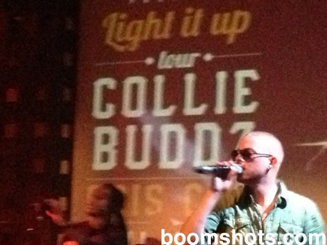 "Collie Buddz ""Lights It Up"" in NYC"