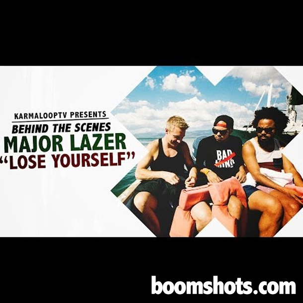 WATCH THIS: Major Lazer feat RDX & Moska - Lose Yourself (Behind The Scenes)