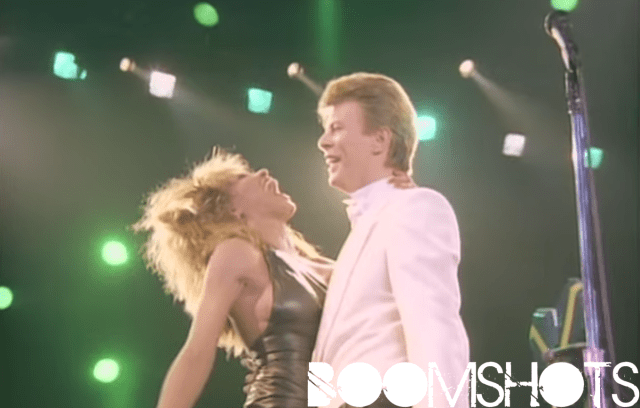 """WATCH THIS: David Bowie ft. Tina Turner """"Tonight"""" Live"""