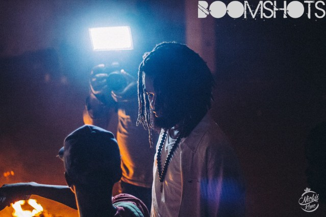 "Dre Island ""M-16"" Video Shoot Behind-The-Scenes"