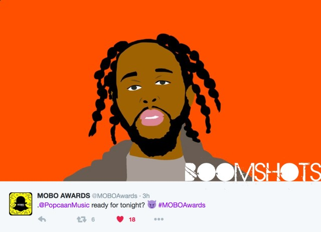 Popcaan Performs Live At MOBO Awards
