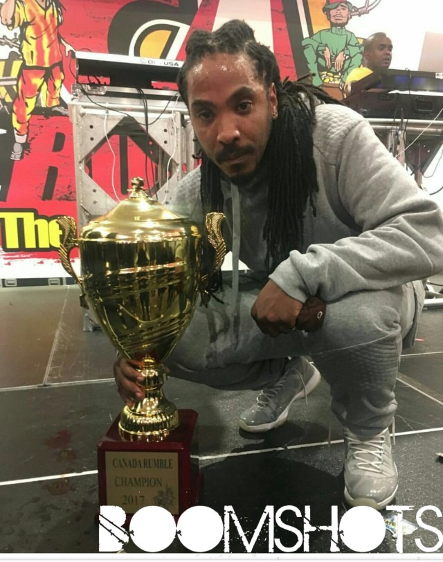 King Attarney Takes The Trophy at Canada Rumble