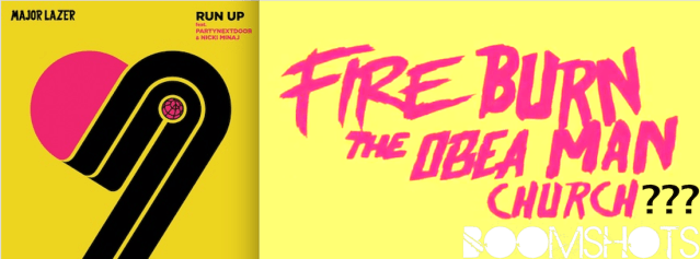 "HEAR THIS: Major Lazer ft. PartyNextDoor & Nicki Minaj ""Run Up"""