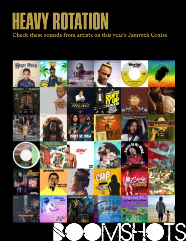 HEAVY ROTATION: New Music From All Artists Aboard The 2018 Welcome To Jamrock Reggae Cruise