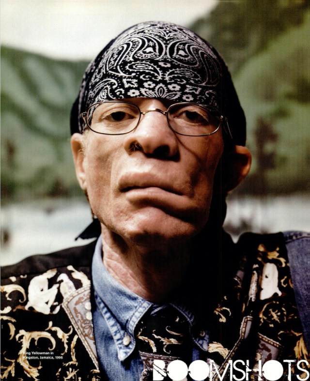 """Strong Me Strong"" Blessed Earthstrong King Yellowman"