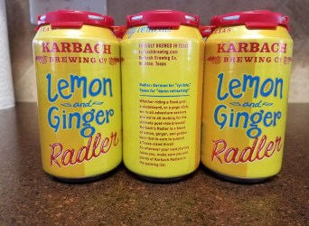 "Karbach ""Lemon Ginger Raddler"""