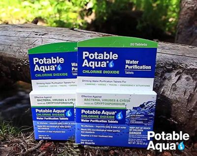 water purifying tablets