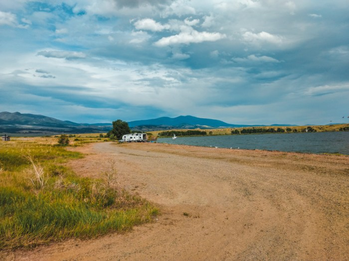 confederate campground montana