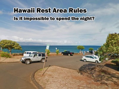 hawaii rest area rules