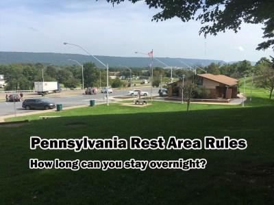 pennsylvania rest area