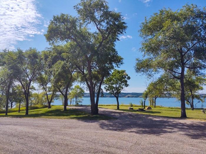 north shore recreation area, south dakota