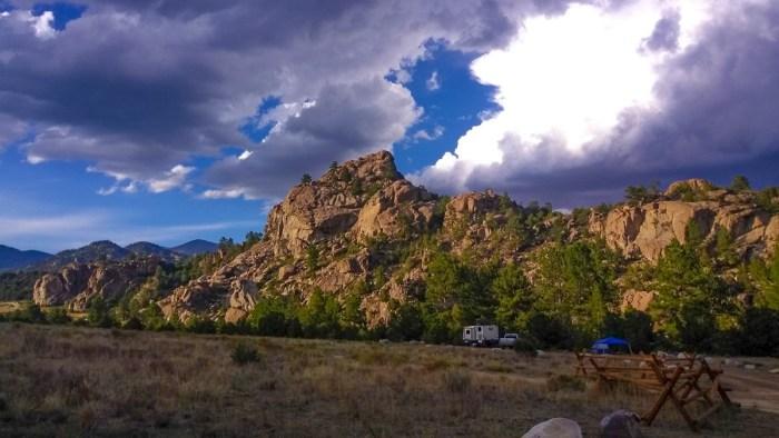 buena vista colorado dispersed camping
