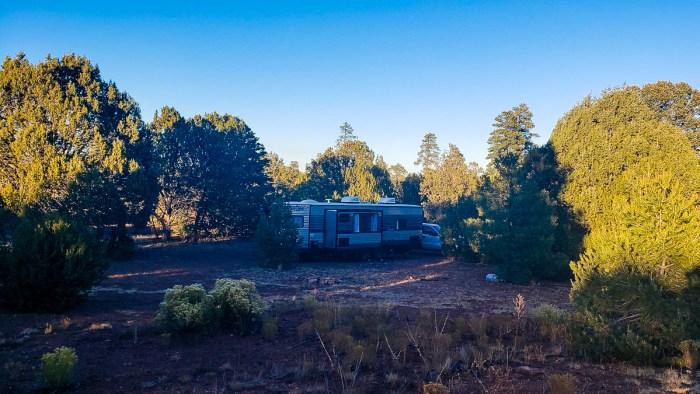 dispersed camping flagstaff arizona
