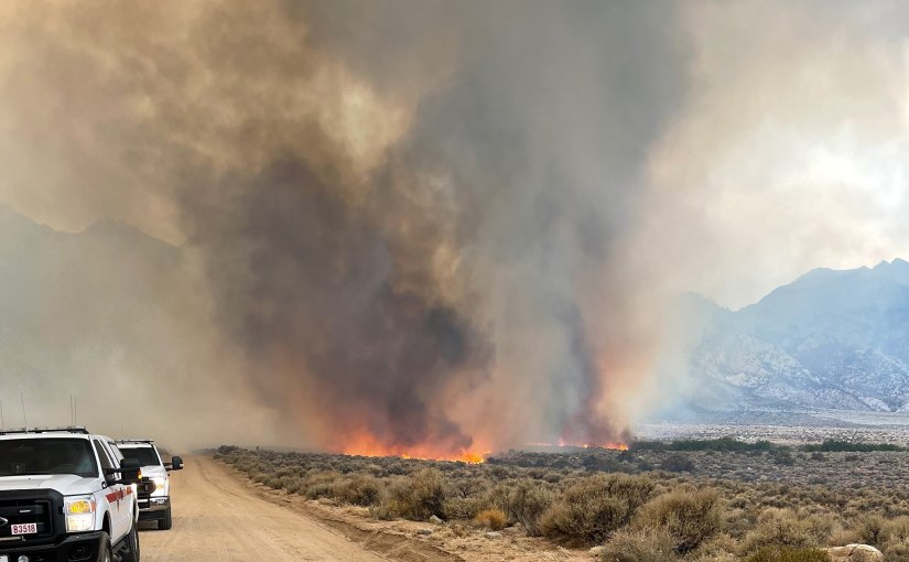 Alabama Hills Now Closed for Boondocking Due to Fire Danger