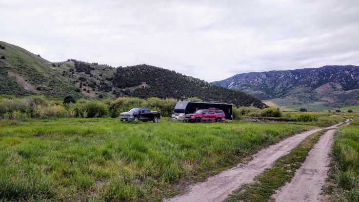 is it safe to leave your camper while boondocking
