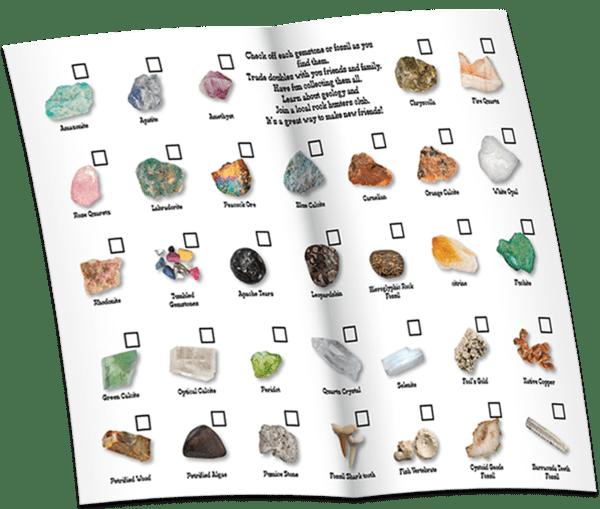Gem Mining Kit Identification Guide