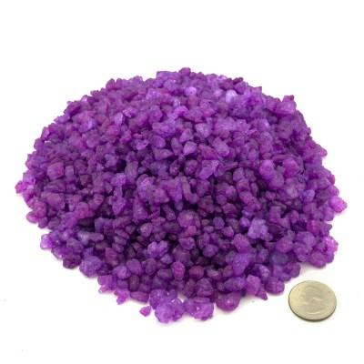 Purple/Grape Rock Candy Crystals
