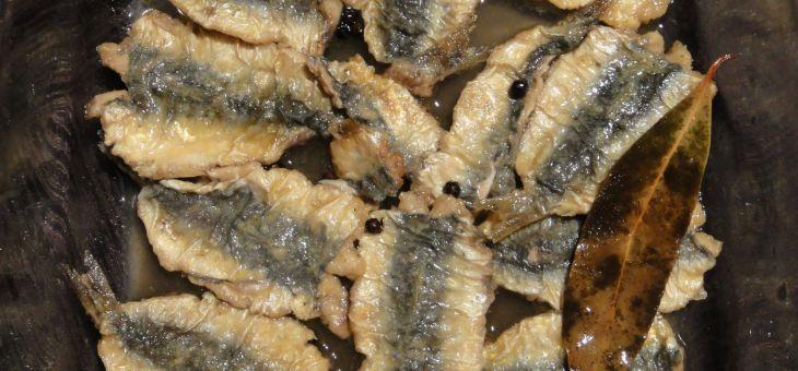 Sardines escabetxades