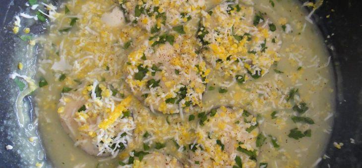 Rodanxes de lluç amb salsa verda