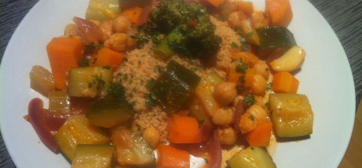 Tajin de verdures