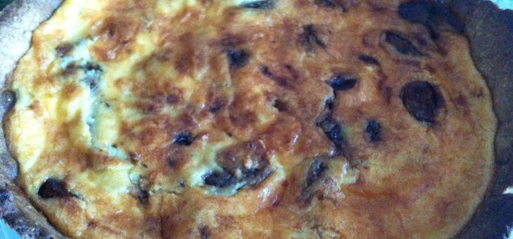 Pastís d´alls caramelitzats