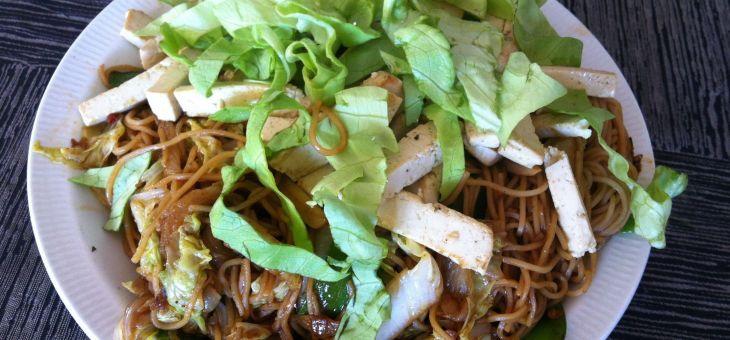 Mee Goreng (Fideus amb verdures i tofu)