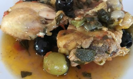 Pollastre amb olives