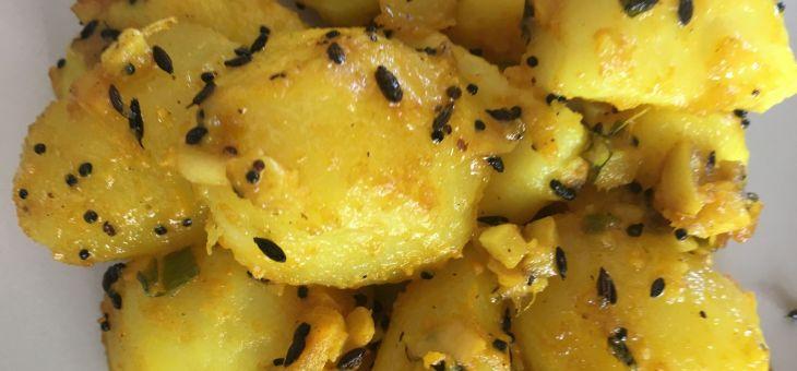 Patates a l´estil nepalí de Maasi