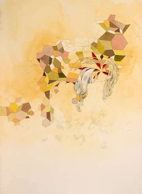 angela garrels gala bent drawing artist