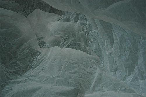 Antarctica in a bag by François Delfosse