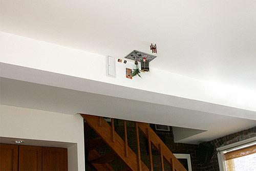 ji lee parallel world sculpture miniature ceiling