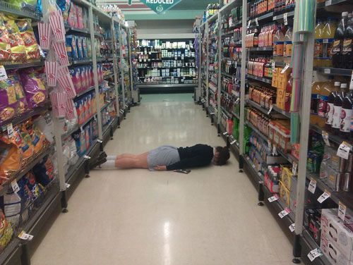 The lying down game by Gabi Rivett aka the greatest photo album on Facebook