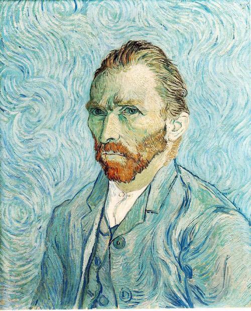 van gogh self portrait painting 1889